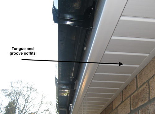 tounge and groove soffits new
