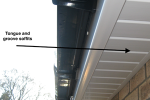 tongue and groove soffits newport